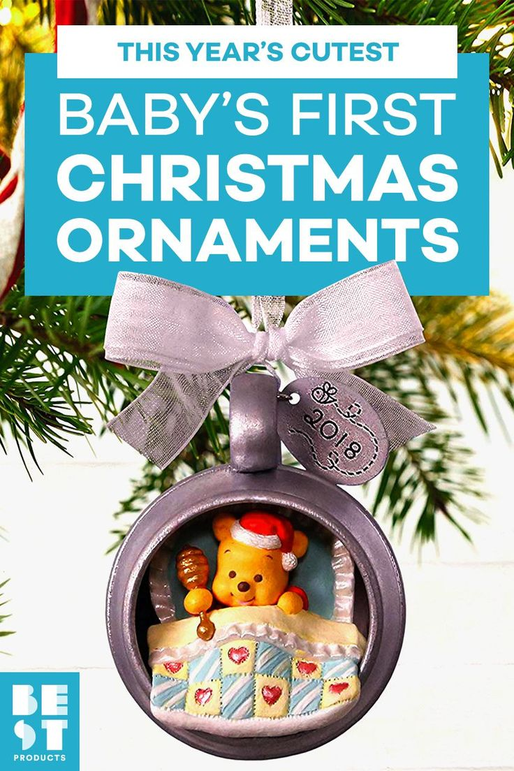 These Are the Best Baby's First Christmas Ornaments for a ...