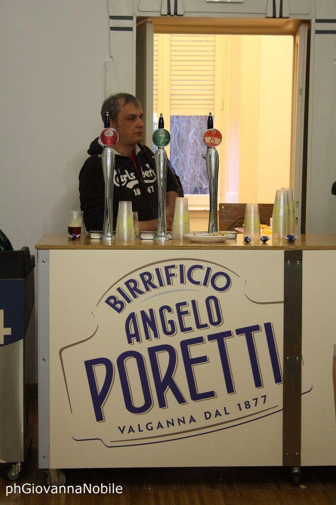 Un pomeriggio in Valganna, presso lo stabilimento il birrificio Poretti
