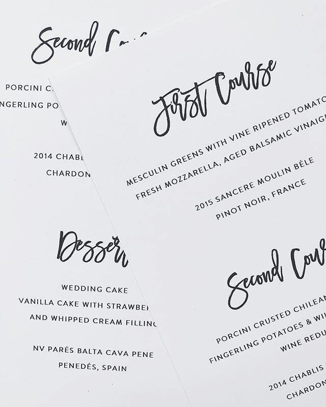 Almost Friday guys! Wedding menu available in my Etsy shop. that wedding cake tho.. I am definitely a dessert girl, and I loove seeing all those yummy wedding cakes pop up in my Instagram feed... Can I get married just for the cake? :)
