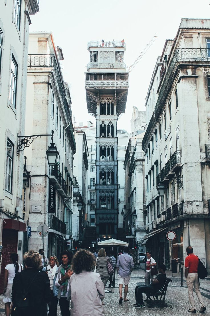 ELEVADOR STA JUSTA - 12 Things to do in Lisbon in Europe, Lisbon, Portugal…