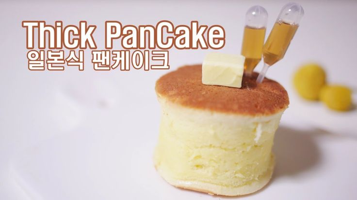 [No-oven Dessert/Recipe] How to make a Thick Pancake with a paper cup : ...