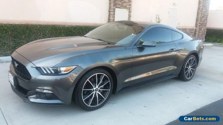 2015 Ford Mustang EcoBoost Premium Coupe 2-Door #ford #mustang #forsale #unitedstates