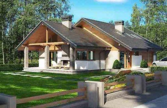Idei de case cu 4 dormitoare - 3 proiecte interesante