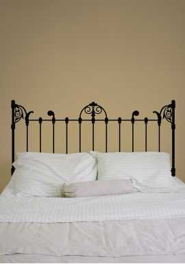Adesivo de parede para cabeceira de cama Cabeceira Marselha