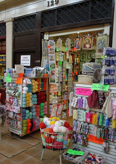 Mmmm, yarn in Newcastle