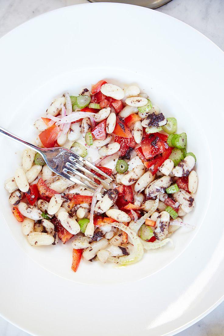 insalata estiva di fagioli bianchi