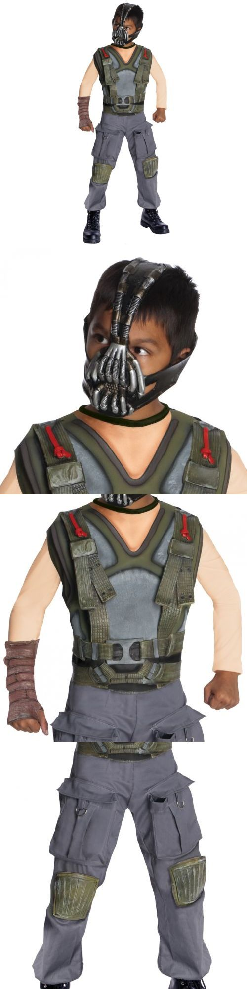 Boys 80913: Bane Costume Kids Batman Halloween Fancy Dress -> BUY IT NOW ONLY: $36.19 on eBay!