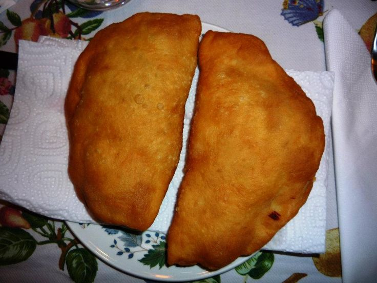 Fried Panzarottio Share made these for us last night. So yummy!