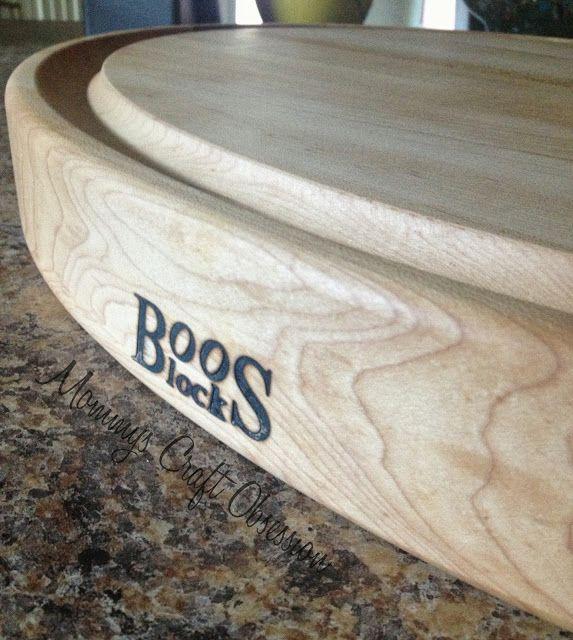 She Said Yes: John Boos Cutting Board