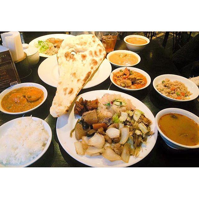 * * * ETHNIC CAFE & RESTAURANT🍛 飯田橋 エスニック料理のランチブュッフェ エスニック大好き人間。 * * I luv Ethnic food… I guess I like them then Japanese food🤔💭 * * * * * * * * * * * * * #エスニック #カレー #カレーライス #美味しい #ごはん #カフェ #カフェ巡り #お洒落 #お洒落さんと繋がりたい #料理 #写真好きな人と繋がりたい#ランチ #東京 #日本 #お昼ごはん #肉 #curry #foodie #japan #tokyo #instafood #foodstagram #delicious #fashiongram #foodie #foodporn #fashionista #cafe #Ethnic #food #foodlover