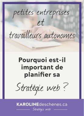 Une stratégie web, c'est la planification de ce que vous ferez sur internet pour vous démarquer de vos concurrents et gagner des clients. #stratégie #web #siteweb #marketing #entreprise #autonome #plan #planifier
