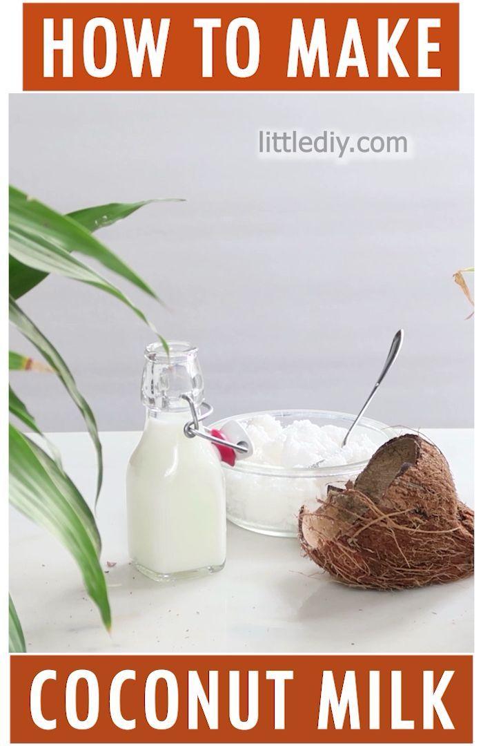 How To Make Coconut Milk Make Coconut Milk Coconut Milk For