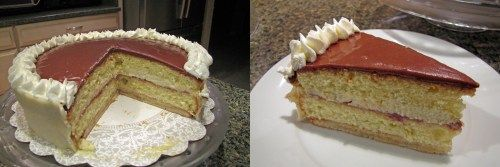 """The Othellolagkage is named after Shakespeare's great tragedy Othello which was written in the early 1600′s. Lagkager or Layered cakes are very popular in Denmark and the Othellolagkage is the """"creme de la creme"""" of layered cakes, a true Danish classic."""