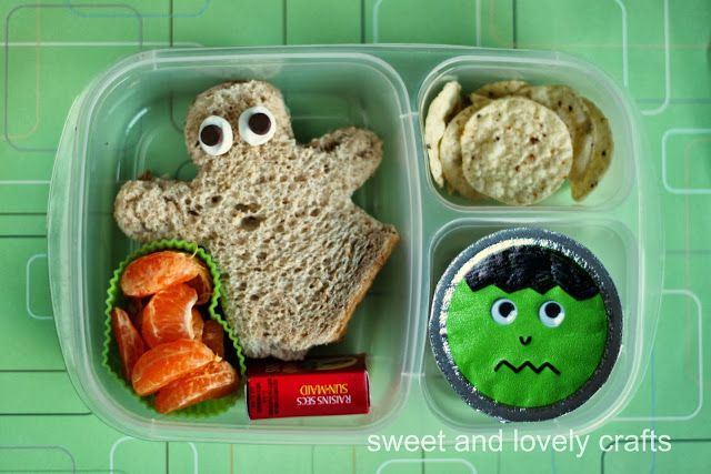 Fall & Halloween lunches ideas - packed in #EasyLunchboxes