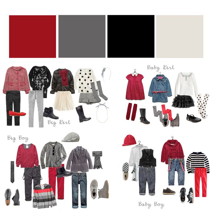 excellent suggestions for family colour choices for photo shoots, plus some excellent pose and background ideas
