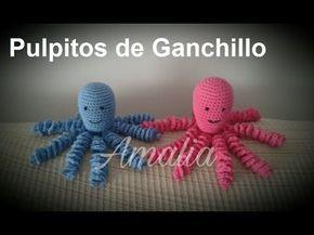 Pulpitos Amigurumis para Bebes Prematuros / Tutoriales | Crochet y Dos agujas - Patrones de tejido