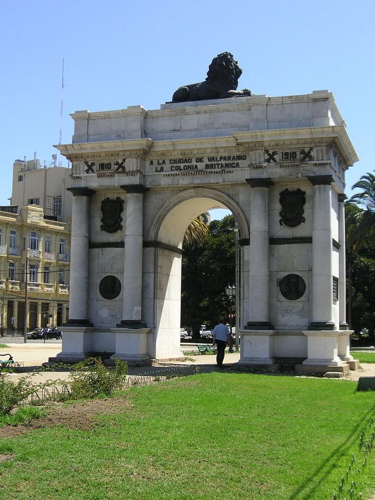 British Arch in Valparaiso Chile
