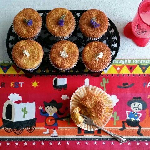 Yağsız Havuçlu Cevizli muffin