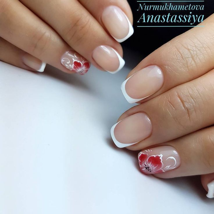 Beautiful French Nail Art Designs: 25+ Best Ideas About French Nail Designs On Pinterest