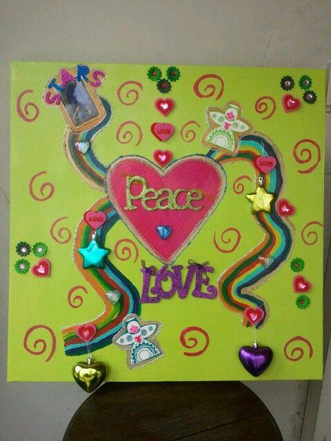 Love,peace,joy,happinez.....