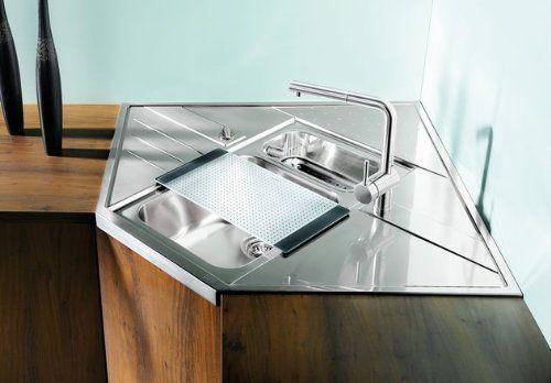 http://ift.tt/22dhb16 Blanco Axis 9 E-M Einbauspüle Edelstahl Spültisch Küchen-Spüle Auflagebecken rasewi$#
