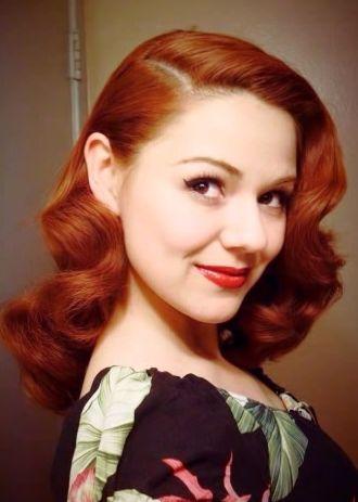 The Suwannee Lady - Amazing 40s Vintage Hairdo: http://www.youtube.com/watch?v=IjqMg47aeWs