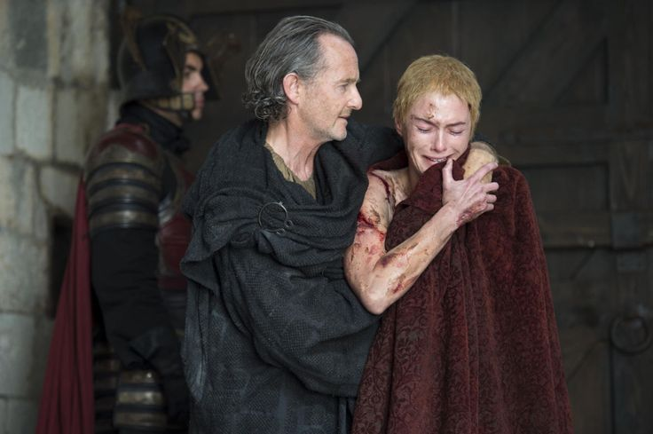 Anton Lesser as Qyburn, Lena Headey as Cersei Lannister - Cersei's favorite maester is a total creepmobile, but he's an interesting character, so let's not kill him… yet.