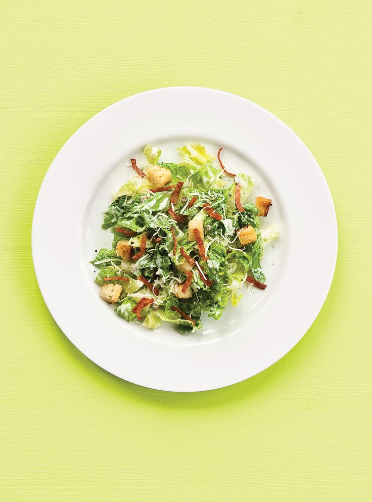 Recette de Ricardo: Salade césar légère