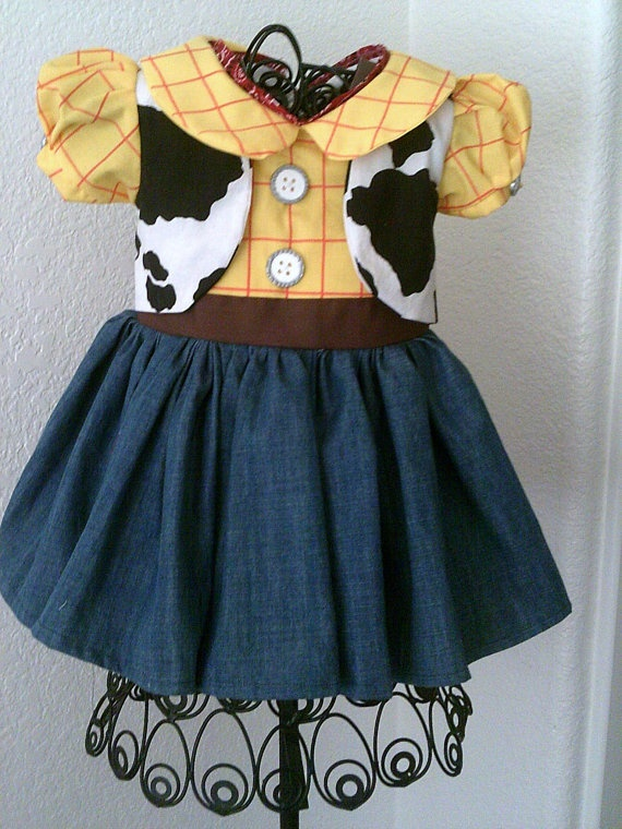 Woody Toy Story 3 Dress by Heartfeltcostumes on Etsy, $45.00