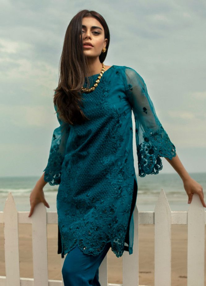 5f13a0ce2e Azure Embroidered Luxury Formals Collection 2019 Vol-2 - Azure - Brands