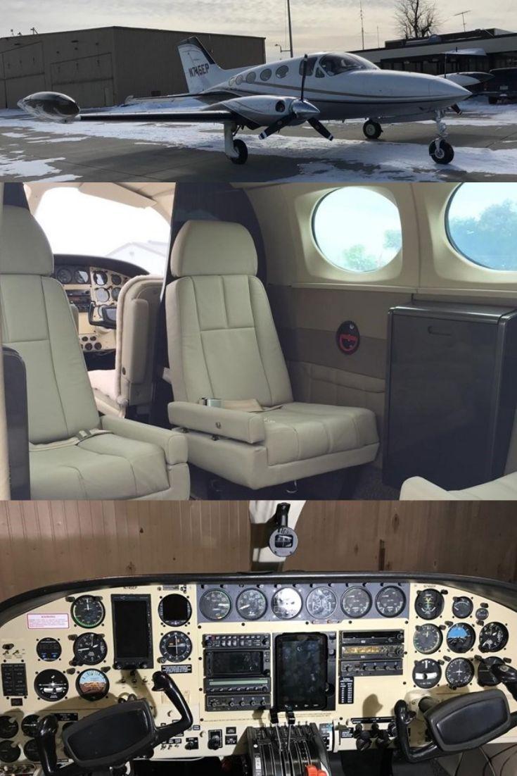 1974 Cessna 414 For Sale! Private jet interior, Cessna