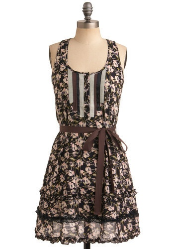 lovePretty Dresses, Fashion, Clothing Style, Stroll Dresses, Pretty Floral, Mixed Style, Mixed Pattern, Floral Dresses, Modcloth Com