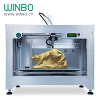Winbo Fast Speed 3D Printer, Build Size 610 x 458 x 305 mm , Only US$4999/set, Most Practical Winbo Large 3D Printer for Sale http://m.alibaba.com/product/60297213495/Winbo-Fast-Speed-3D-Printer-Build.html