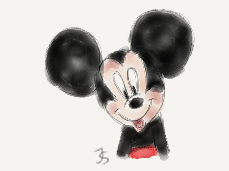Mickey Mouse #mickey mouse #disney #sketch #drawing
