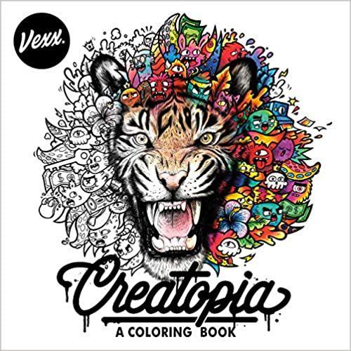 Amazon.com: Creatopia: A Coloring Book (9780593330302 ...