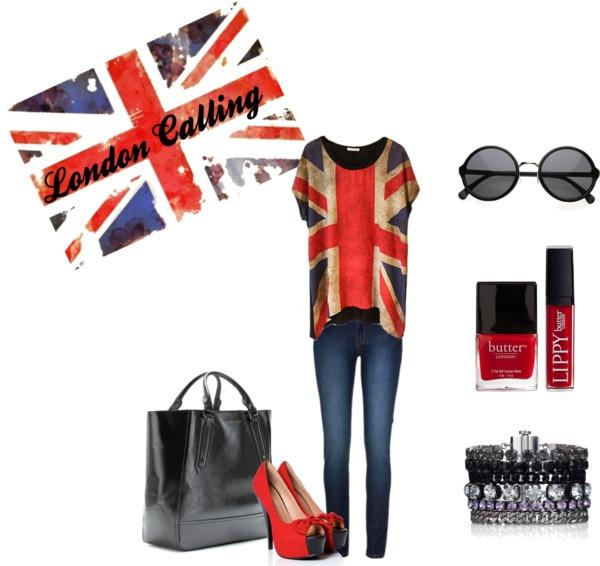 """London Calling"" by kabarillari on PolyvoreLondon Calling"