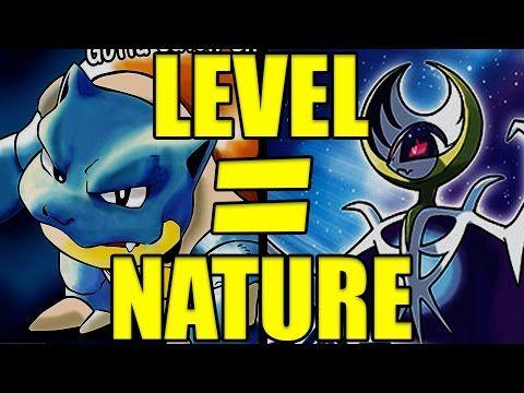 LEVEL = NATURE FOR THE VIRTUAL CONSOLE! Pokemon Sun and Moon Pokemon Ban...