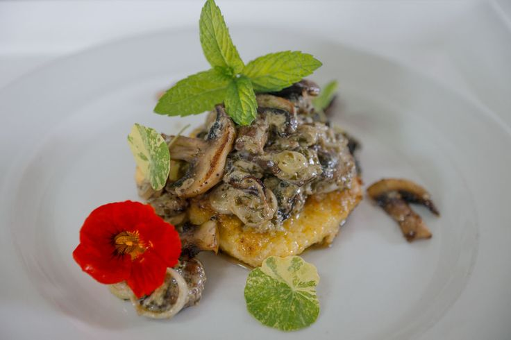 Recipe Polenta proudly presented by YUM Eat Cafe in Stanford, South Africa