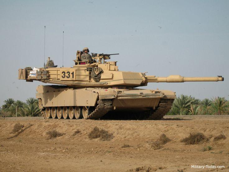 American Main Battle Tank M1 Abrams