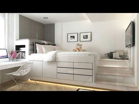 15 IKEA Hack Platform Bed with Drawers - YouTube