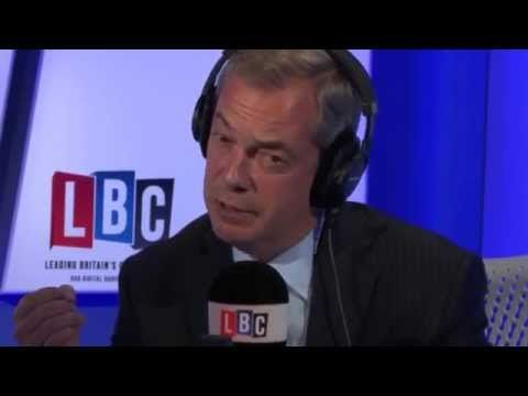 Nigel Farage On LBC - The Definitions Of A Refugee & A Migrant