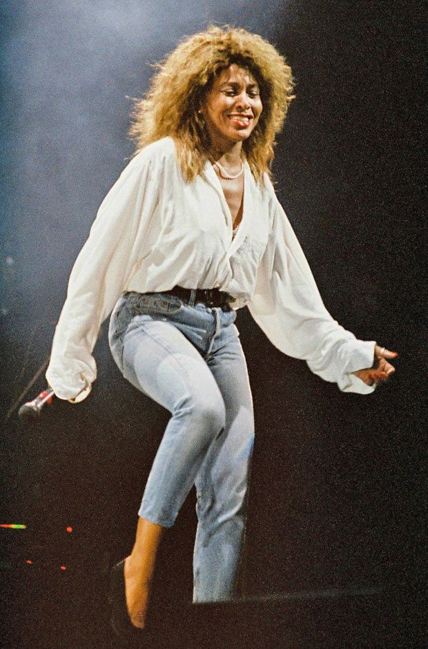 Tina Turner 1990 Foreign Affair Tour
