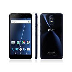 """Geotel Note 5.5 """""""" Android 6.0 Celular 4G ( Chip Duplo Quad núcleo 8 MP 3GB + 16 GB Azul Dourado )"""
