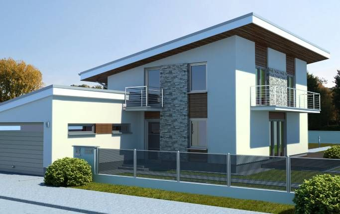 Návrh domu Solar plus od APEX ARCH s.r.o.