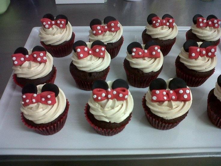 Cupcakes personalizados para ocasiones especiales #Minnie #Disney