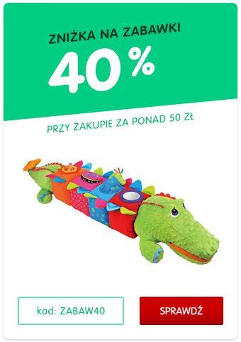 40% zniżki na zabawki! Wpisz kod: ZABAW40 | MALL.PL
