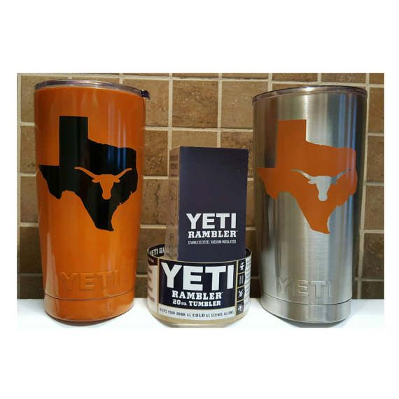 YETI  Authentic UT University of Texas Longhorns Yeti Cup Mug