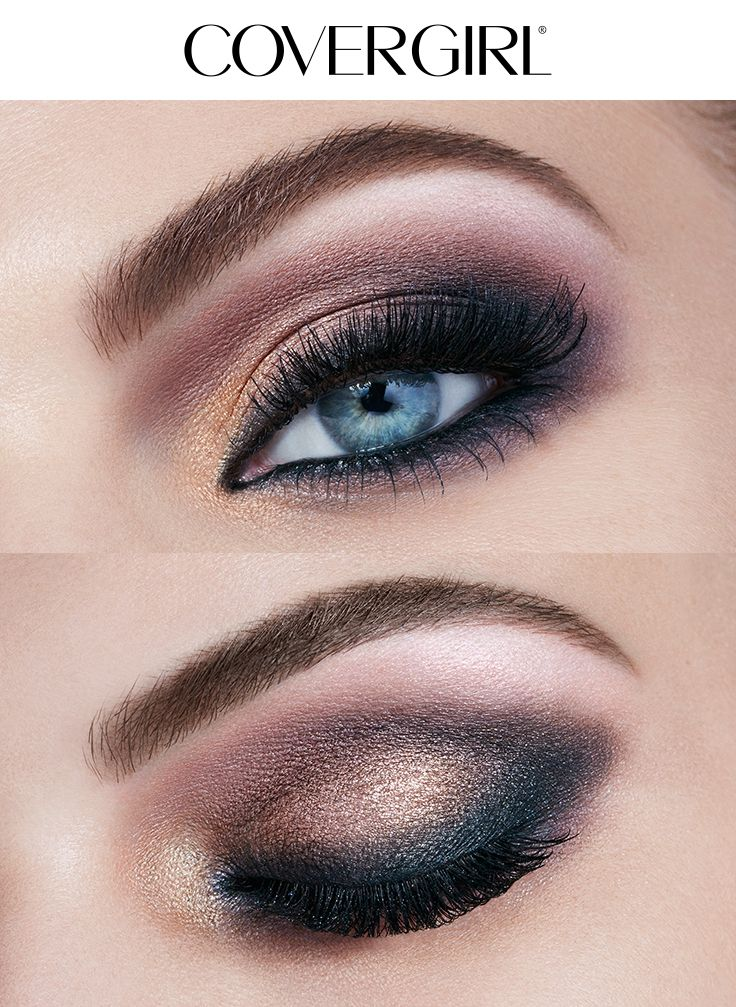 Create a Brown Smoke eye look using COVERGIRL'S TruNaked Jewels Palette this holiday season! This makeup look is simple to create and perfect for any Christmas or Hanukkah party this winter. Complete this look with So Lashy! Mascara and Intensify Me! Liner.