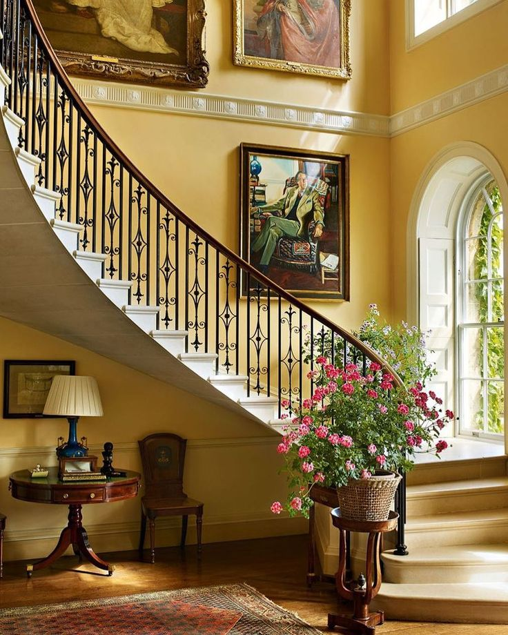 Best Main Entrance Hall Staircase At Bowood House By The 400 x 300