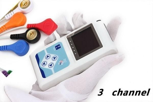 3 Channels ECG Holter, ECG Holter, ECG Monitor System, ECG Recorder CONTEC TLC9803 Electronics Holter Monitoring System